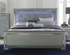 Silver Mirrored Bedroom Furniture by Classic Beds Ebay