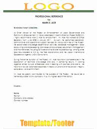 Reference Letter Template Word recommendation letter template word unique best photos of