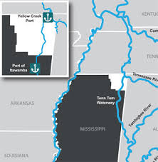 tombigbee waterway map mississippi ports in the tap alliance along tennessee tombigbee