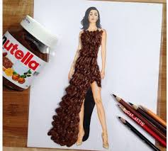 fashion designer this fashion designer turns food into dresses you cant stop staring at