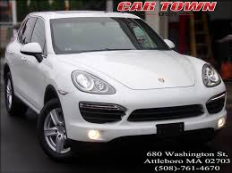 2013 porsche cayenne for sale 2013 porsche cayenne s in attleboro ma car town usa