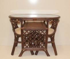 Dining Set 2 Chairs Wicker Dining Chair Foter