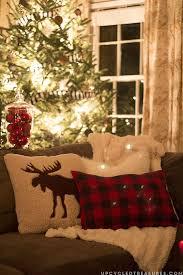 rustic woodland inspired christmas christmas decor holidays and