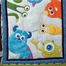 Disney Nursery Bedding Sets by Disney Baby Monsters Inc 4 Piece Crib Bedding Set Toys