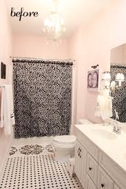 girls u0027 bathroom mini makeover in one afternoon less than