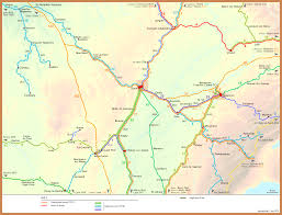France Rail Map by