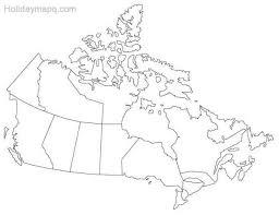 canada blank map blank map of canada map travel holidaymapq com