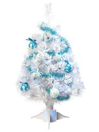 disney frozen fibre optic christmas tree tinsel baubles blue