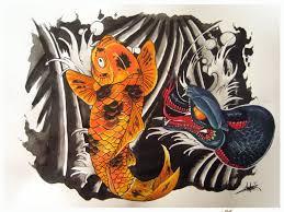 oriental tattoo design by sprayter on deviantart