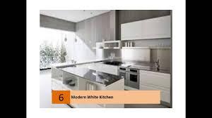 white and cream modern kitchen designs youtube