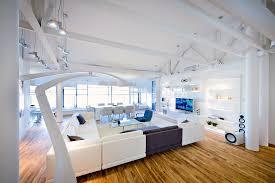 futuristic apartment living room interior design architecture