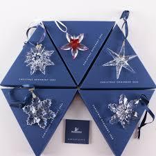 swarovski collectible snowflake ornaments ebth