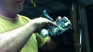part 2 mercedes benz 722 6 transmission stuck shifter mechanism