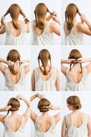 Hochsteckfrisurenen F Schulterlange Haare by Wunderschöne Die 25 Besten Ideen Zu Einfache Frisuren Auf