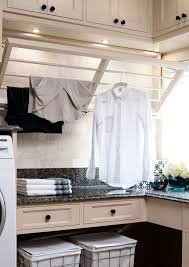 laundry room drying rack ideas laundry room traditional with