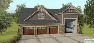 Garage With Living Space Above by This Detached Rv Garage Plan Is Perfect For The Explorers Among Us
