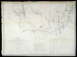 Map Of Nm Map Of The Route Pursued In 1849 By The U S Troops Under The