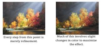easy steps to capturing light in acrylic painting