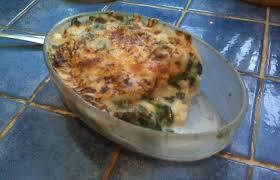 cuisiner du colin gratin de colin et d épinards recette dukan pl par cocavanille