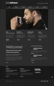 biography design template website design 19957 photo portfolio