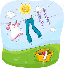 drying clothes outside clip art u2013 clipart free download