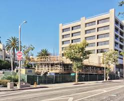brentwood retail center slated for major renovation urbanize la frank gehry designed office building underway in brentwood