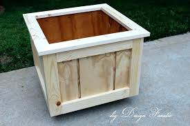 wooden garden planters wooden planter boxes large wooden planter