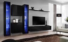 mdf chipboard wall entertainment units u0026 tv stands ebay