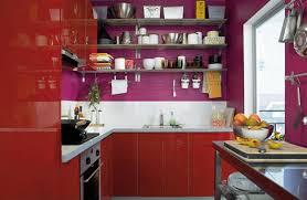 Purple Kitchen Cabinets Modern Kitchen Color Schemes 22 Ideas To Create Stunning Red And White Kitchen Design