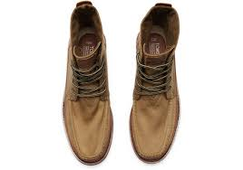 toms wheat brown men u0027s searcher boots in brown for men lyst