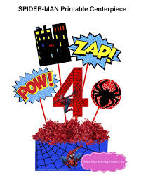 71 spiderman party images party printables