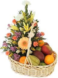 fruits flowers fruit flower basket fruit flower basket sentiments