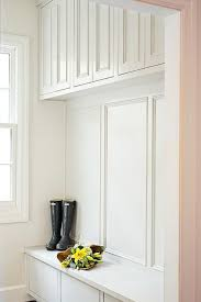 Built In Bench Mudroom Cabinets Over Mudroom Bench Design Ideas