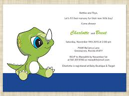 dinosaur baby shower dinosaur baby shower invitations theruntime
