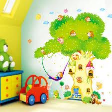 babyzimmer wandtattoo baum haus design möbel ideen und