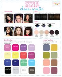 best hair color for deep winters color analysis 3 degrees of cool brilliant novel character
