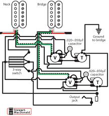 dual humbucker wiring diagram wiring diagram manual