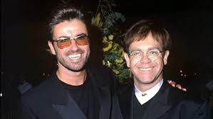 elton john honors george michael with performance of their hit