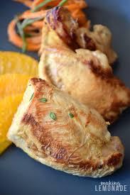 orange glazed turkey breast recipe lemonade