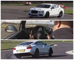 bentley gt3r convertible bentley continental gt3 r goes drifting with chris harris at the