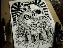 jester commision tattoo desing by eg thefreak on deviantart