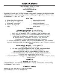 retail resume templates resumes for management resume templates for retail