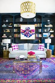 Colorful Living Room Rugs Design Breakdown Colorful Sitting Room Pillow Room Lilacs And