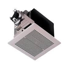Bathroom Fan With Heater Panasonic Whisperceiling 290 Cfm Ceiling Exhaust Bath Fan Energy