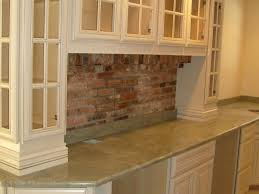 interior brick backsplash interiors