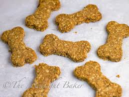 recipe for dog treats peanut butter and bacon dog biscuits the midnight baker
