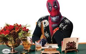 deadpool hijacks housekeeping for some holidays hijinks