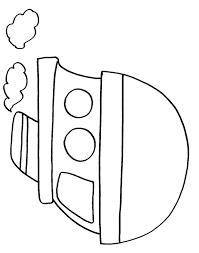 coloriage d u0027un bateau rond tête à modeler