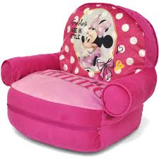 charming minnie mouse toddler bean bag sofa chair with additional