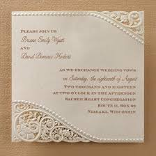 Single Card Wedding Invitations All About That Lace Persnickety Invitation Studiopersnickety